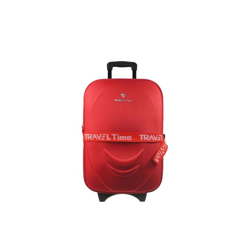 Traveltime 5459 Set Koper 20 Inch & 6189 Tote Bag Red