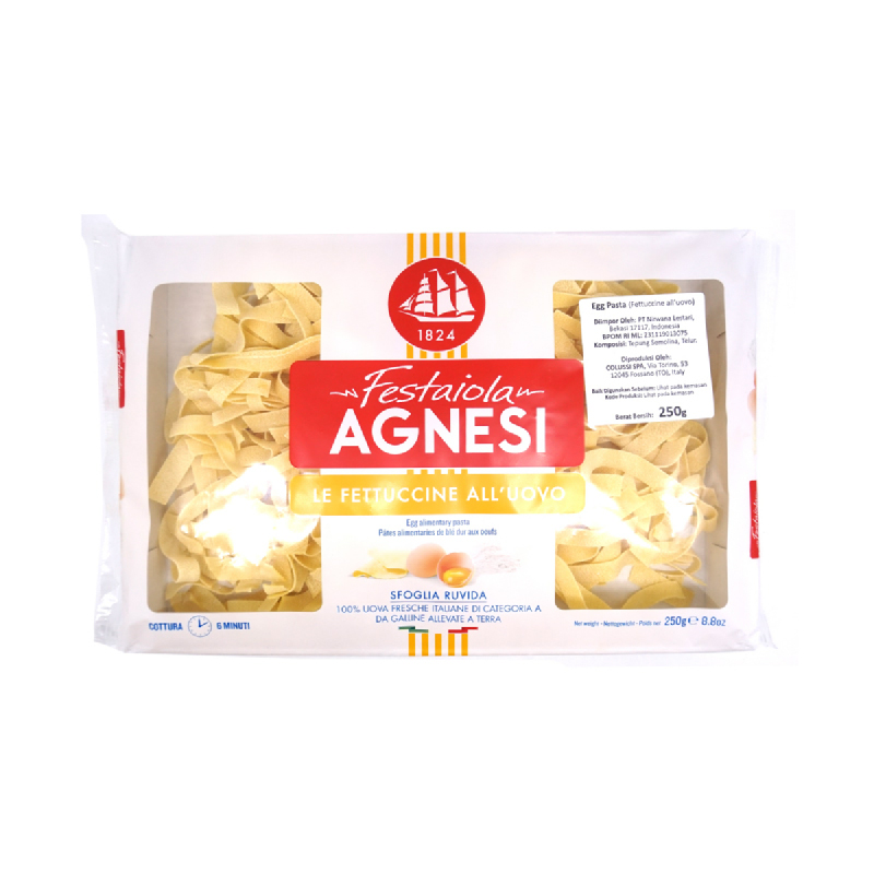 Agnesi Fettucine 250 Gr