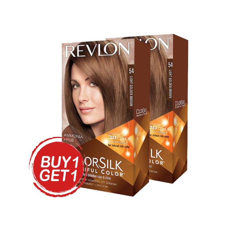 Revlon Colorsilk Light Golden Brown 54 (Buy 1 Get 1)
