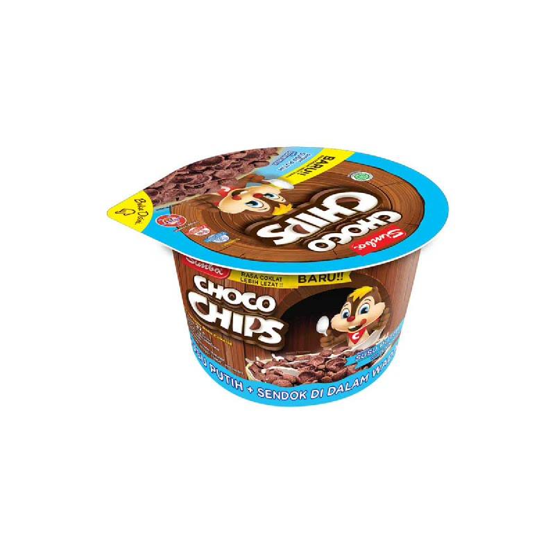 Simba Choco Chips Susu Putih Cup