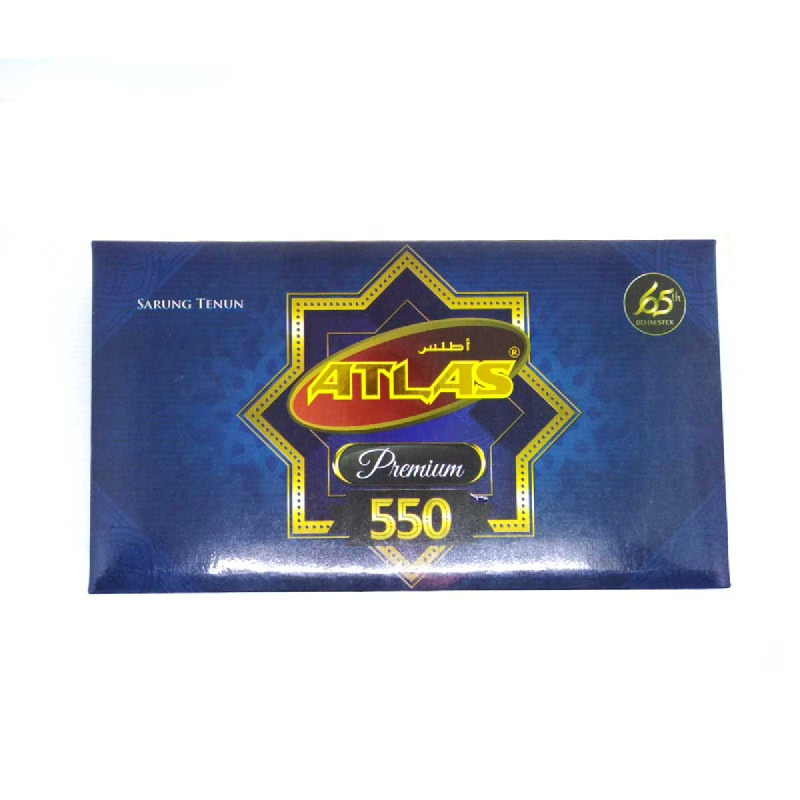 Atlas Sarung Tenun Premium Tipe 550 Duplex