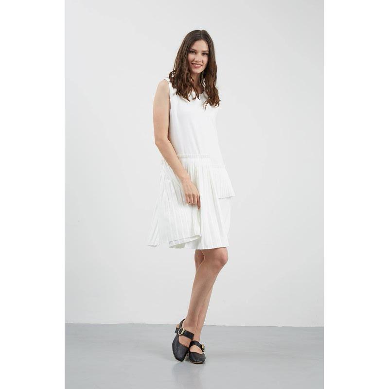 GW Kleve Dress in White