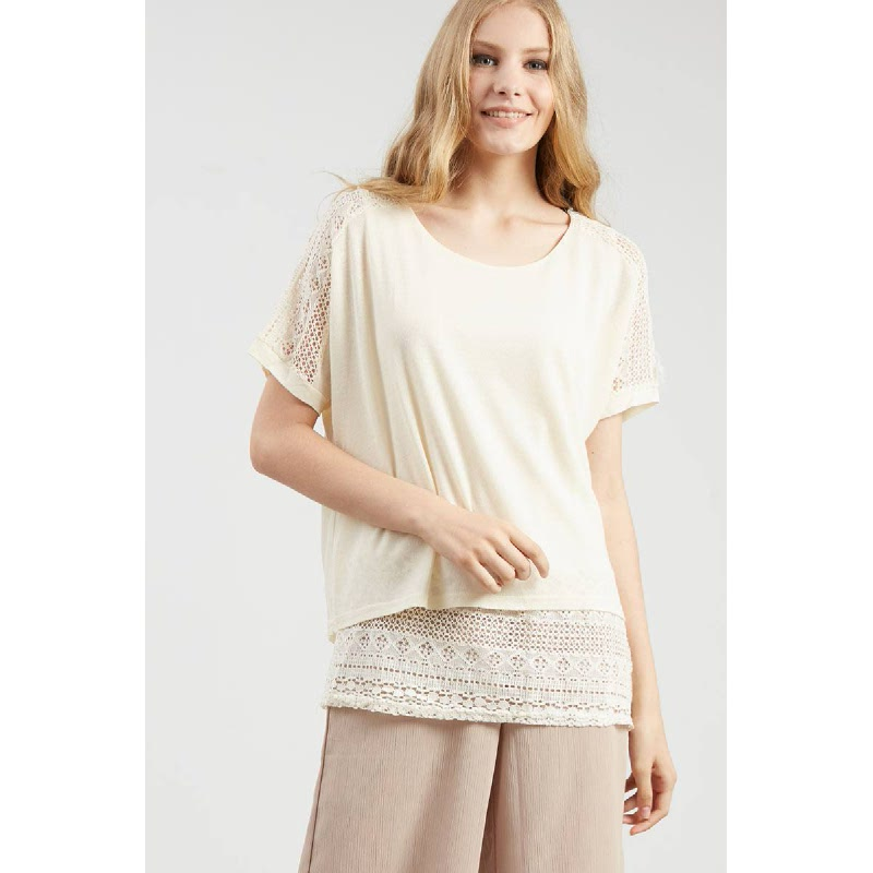 Francois Laubach Top in Beige