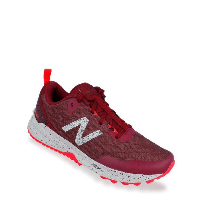 New Balance Trail Nitrel Women Running Shoes - Red