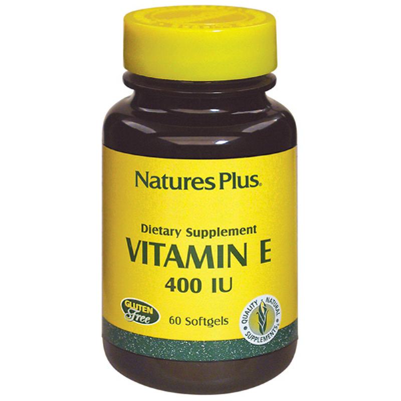 Natures Plus Vitamin E - 400 Iu (60)