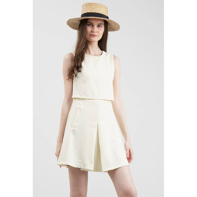 GW Eutin Playsuit in Cream