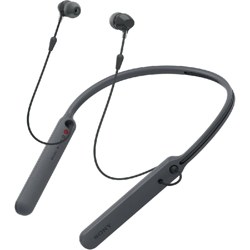 Sony Wireless Earphone WI-C400 Black