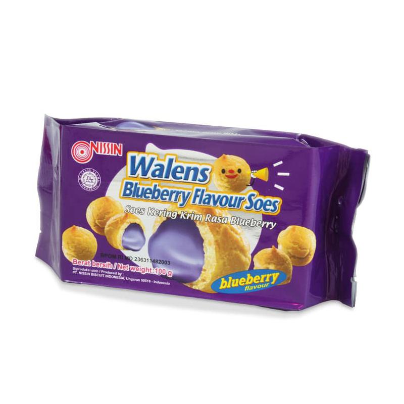 Nissin Wallen Soes Blueberry 100 gr