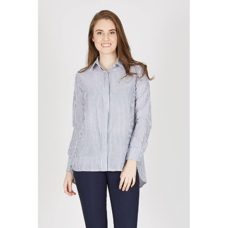 Francois Strela Top in Light Grey