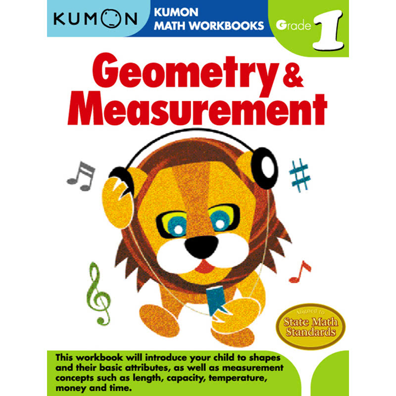 Kumon Grade 1 Geometry & Measurement