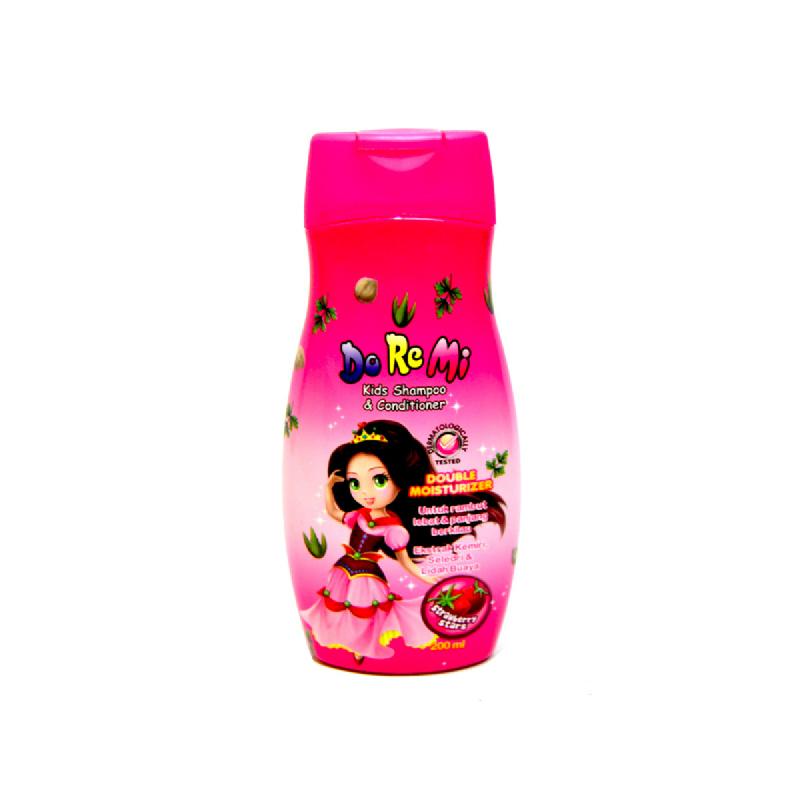 Doremi Kids Shampoo & Conditioner Strawberry 200 Ml