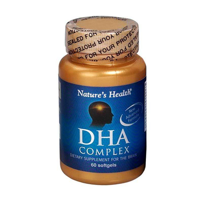 Natures Health Dha Complex 500 Mg 60