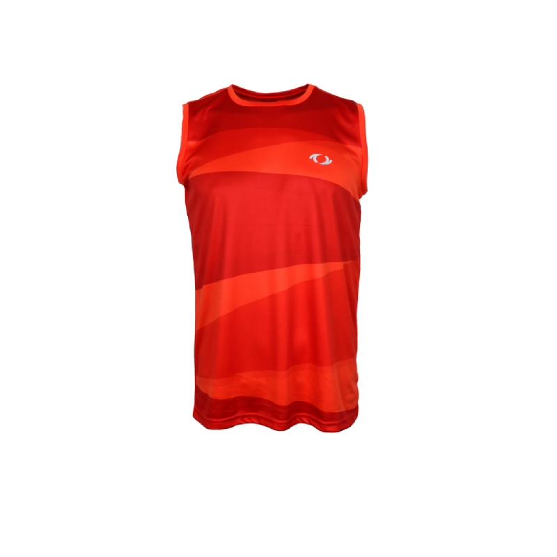 Astec Accord Men Sleeveless Shirt Orange