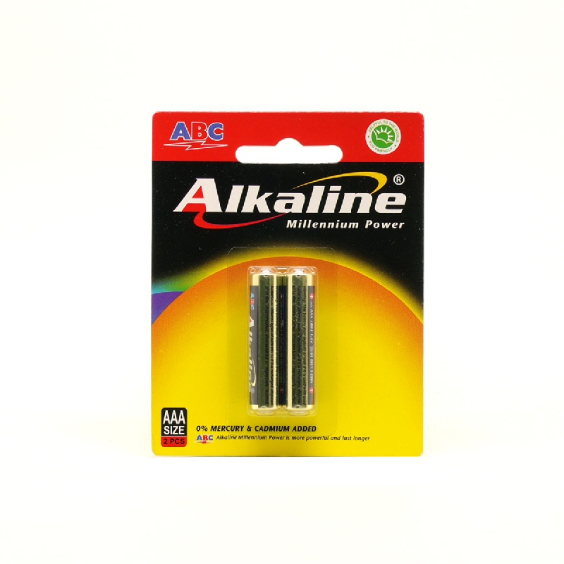 Abc Battery Alkaline Aaa Lr-03 2B Mp