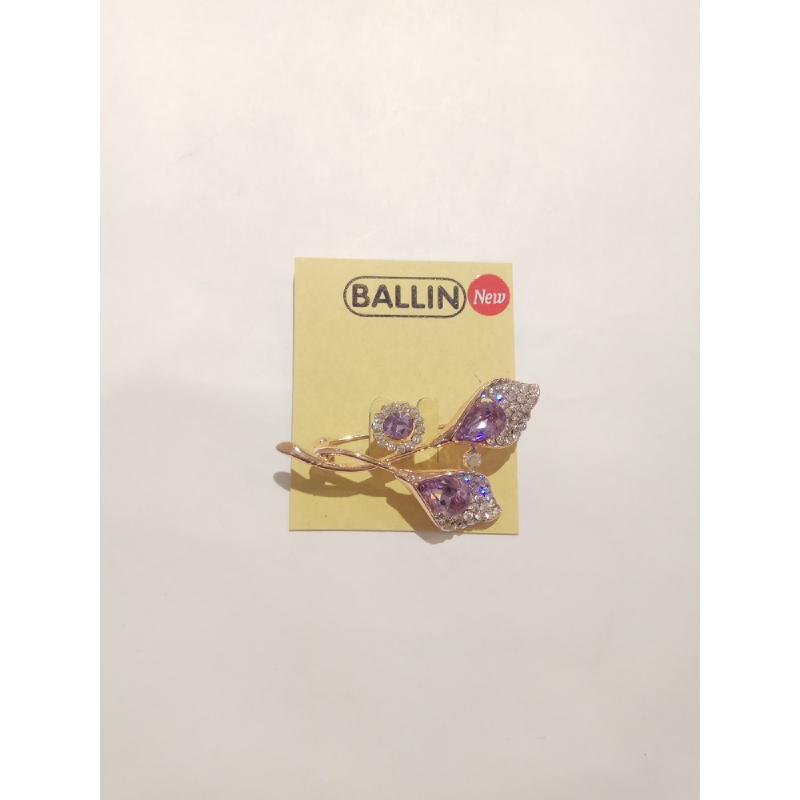 Ballin - Women Brooch LF BRXZ8070 25 Silver