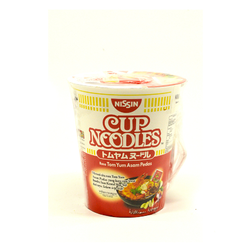 Nissin Cup Noodle Tomyum 75G