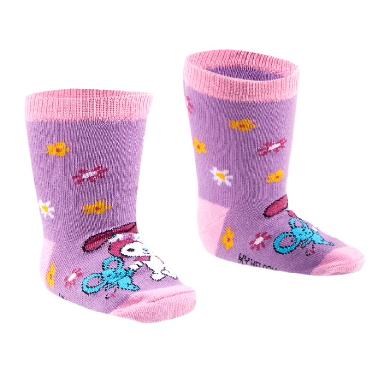 Baby Sock Purple MM7-12-PRP