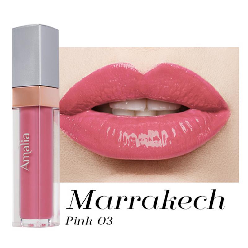 Amalia Matte Lip Cream Morocco Pink 03