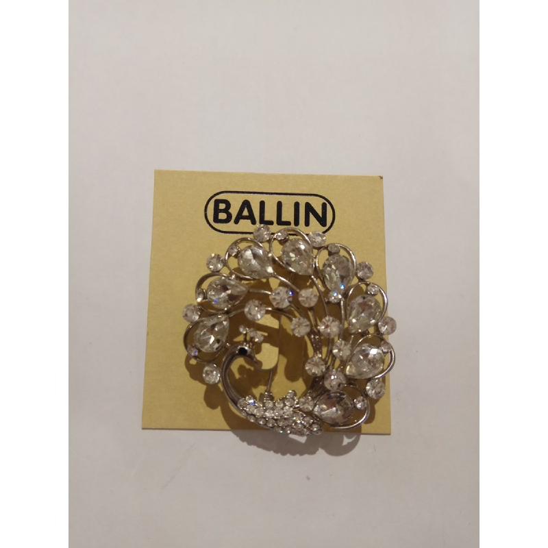 Ballin Women Brooch CB-BR29-17153S Silver