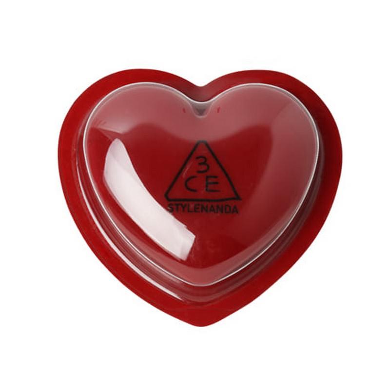 3CE Heart Pot Lip - Brick Red