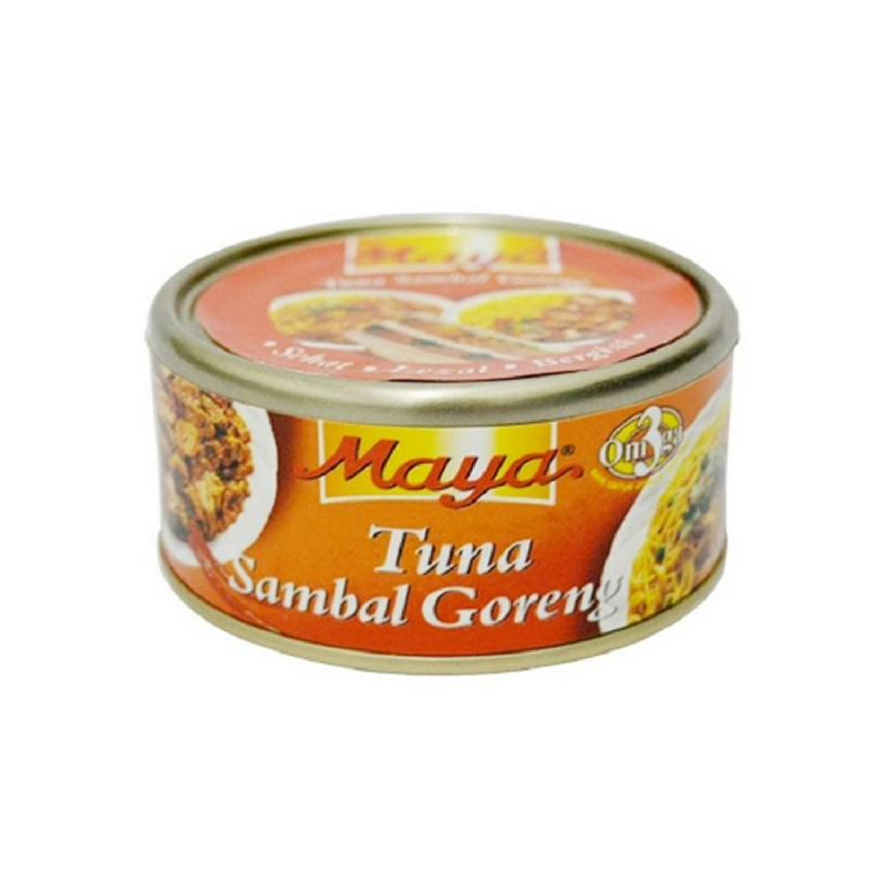 Maya Tuna Sambal Goreng 185 Gram