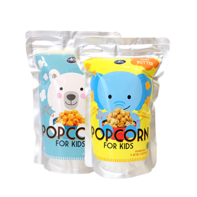 Abefood Cheese Pop Corn For Kids + Abefood Sweet Butter Pop Corn For Kids