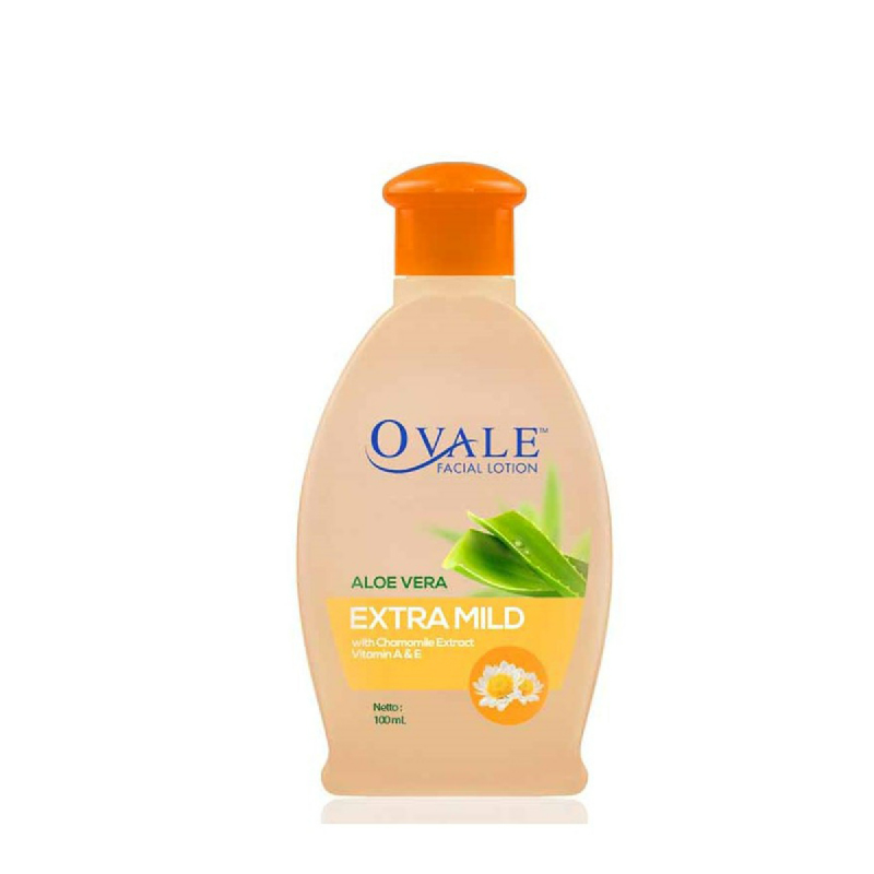 Ovale Facial Lotion Extra Mild 100 Ml