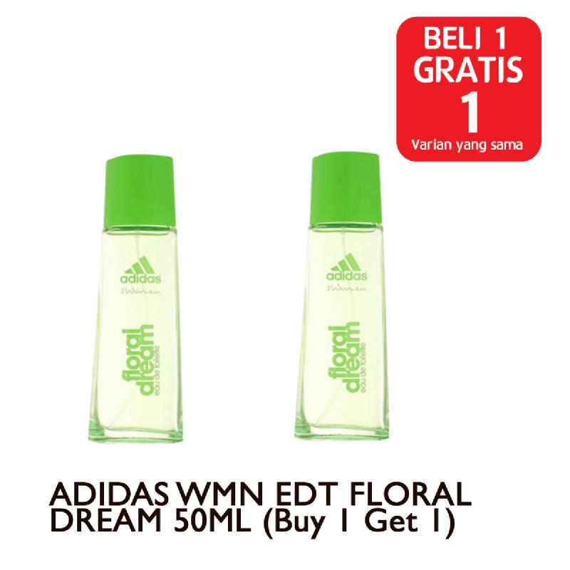 ADIDAS WMN EDT FLORAL DREAM 50ML (Buy 1 Get 1)