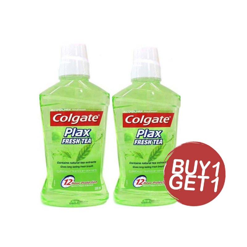 Colgate Mouthwash Plax Fresh Tea 250 Ml (Buy 1 Get 1)