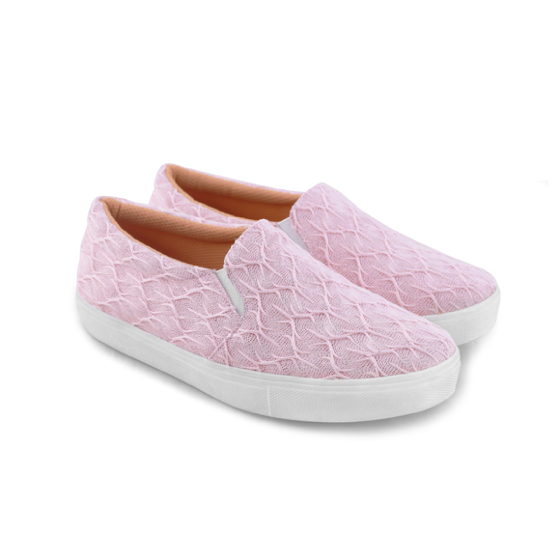 AliveLoveArts Lullaby Slip On Pink