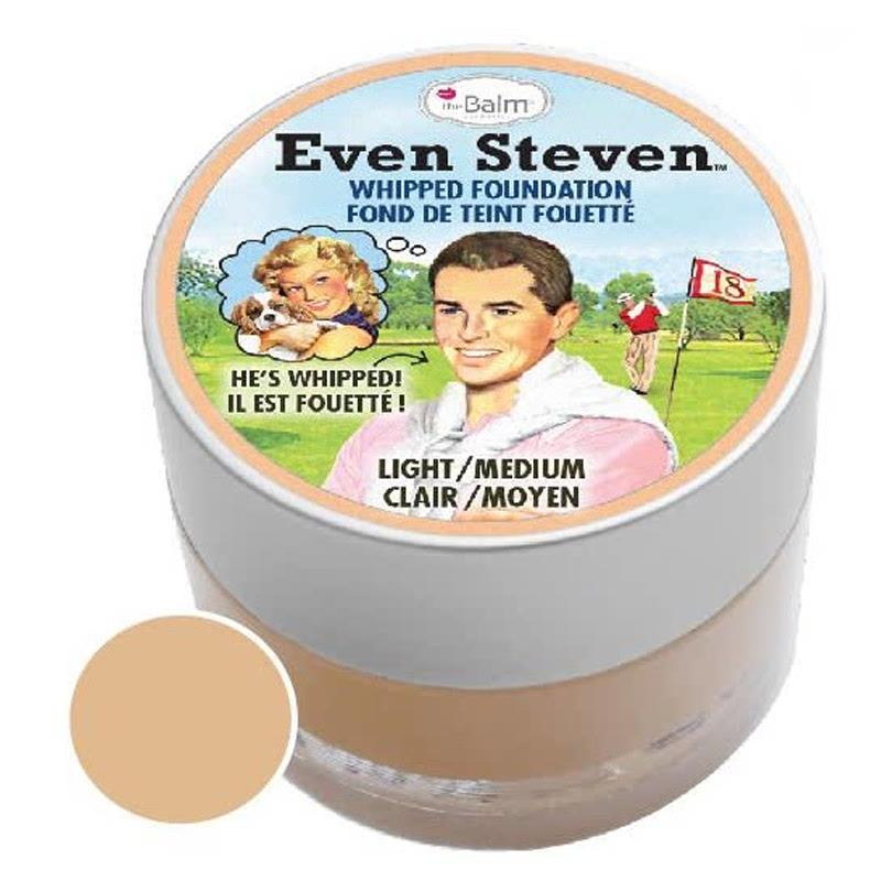 The Balm Even Steven Whipped Foundation Light Medium