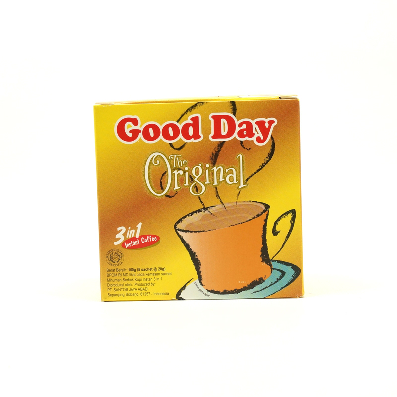 Good Day Kopi Original Box (5x20g)