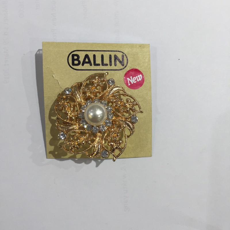 Ballin Women Brooch Flower XP-BR120-2 Gold