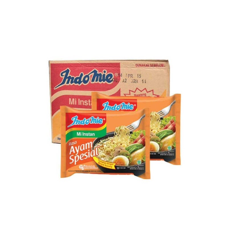 Indomie Mie Instant Ayam Special 68 Gr (1 Karton)