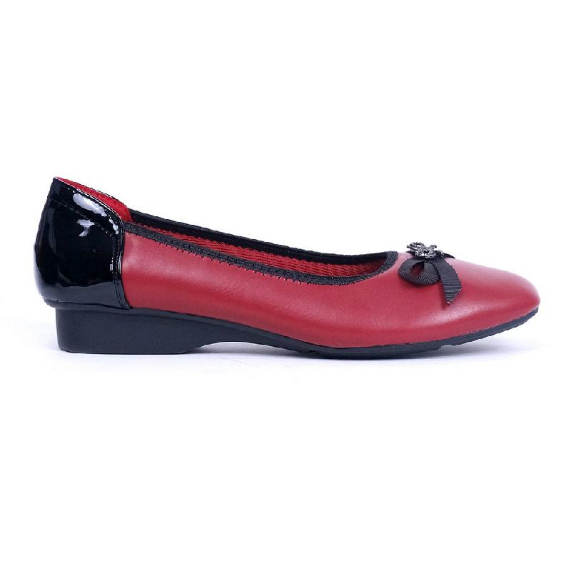 Austin Flat Shoes Kachi Red