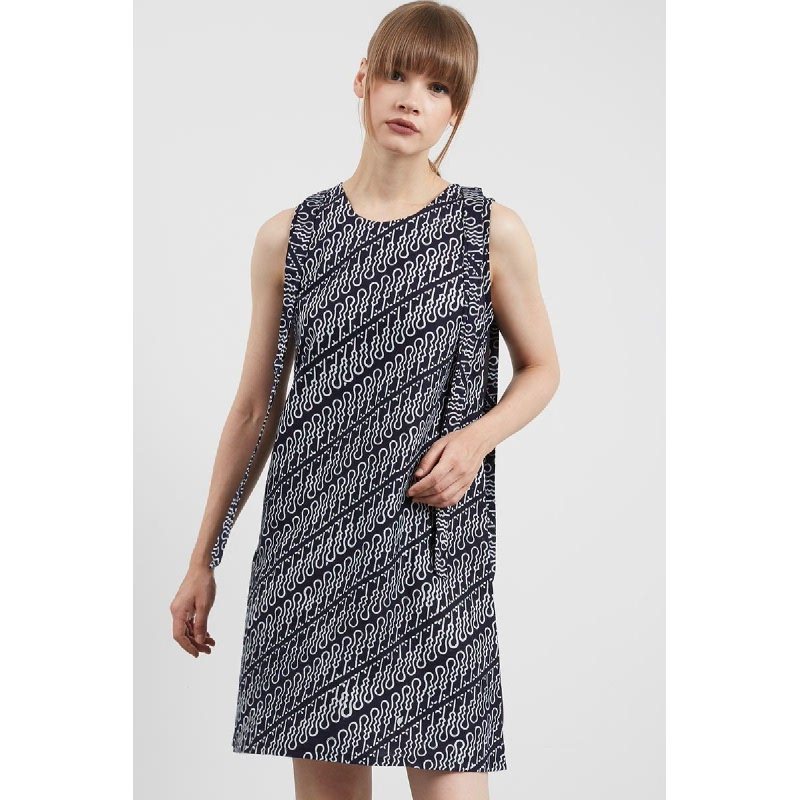 Shiloh Batik Dress Black
