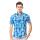 Agrapana Batik Lengan Pendek Muscle Fit  104.21.858.07.Biru