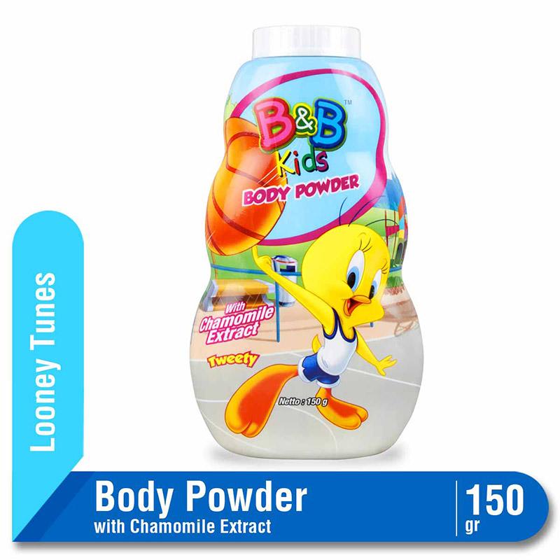 B&B Kids Body Powder Tweety 150 G