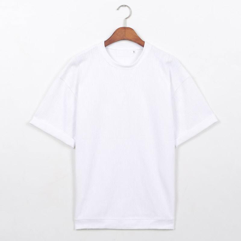 Slav Roll-up Short Sleeve T-shirt WH