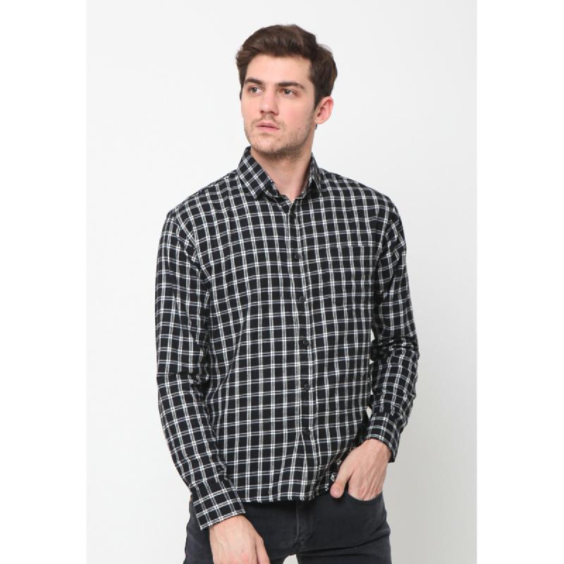 17Seven Shirts Flanel Zoland Black