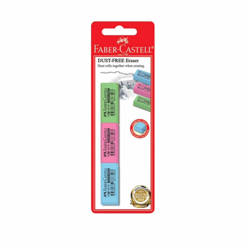 Faber Castell Colour Eraser Set 3