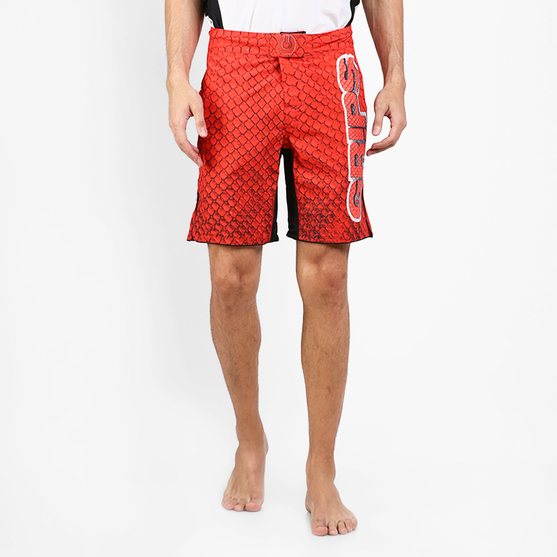 GRIPS Fight Shorts Dragon - Red