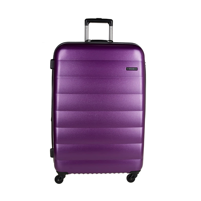 Elle Hardcase Luggage Size 29 Inch 4 Wheels TSA Lock - Purple