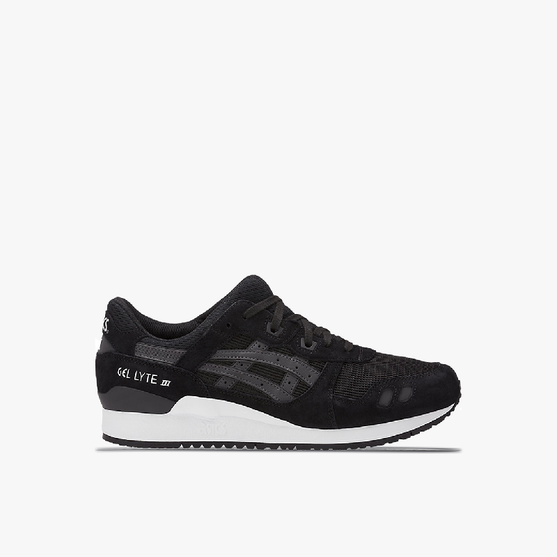 Asics Tiger GEL-LYTE III Unisex Sneakers Shoes Black