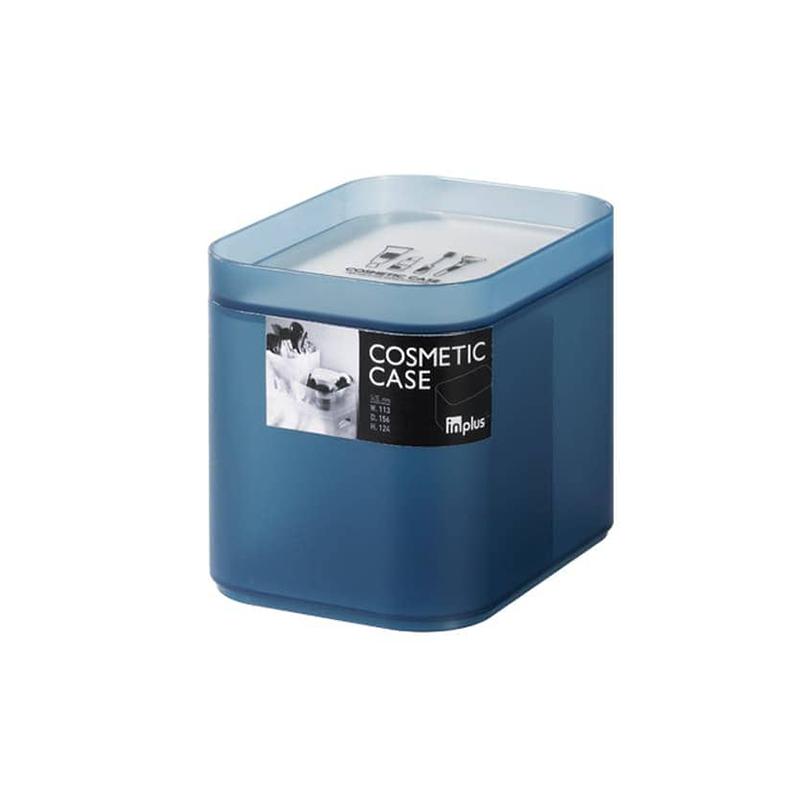 Lock & Lock INP613B INPlus Cosmetic 2 Divided Case (M)  Blue
