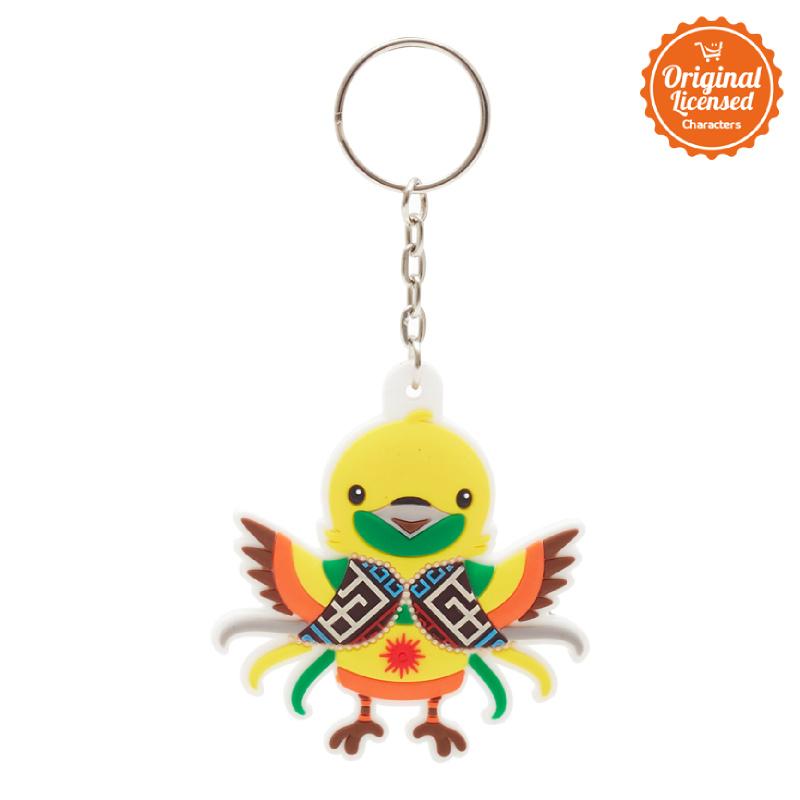 Asian Games 2018 Rubber Keychain Full Body Bhin-Bhin