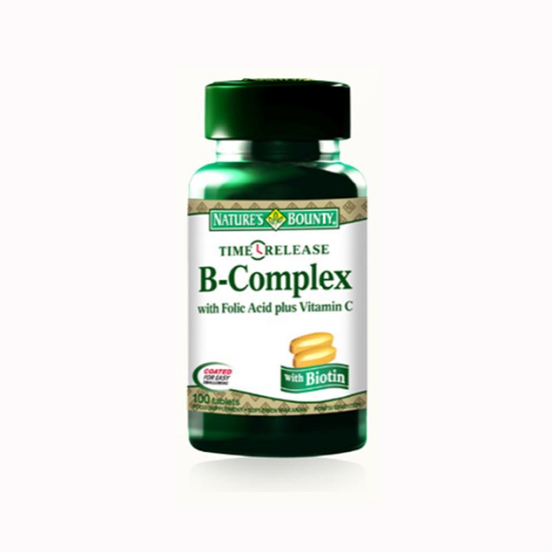 B - Complex + C Time Release 100 Caps