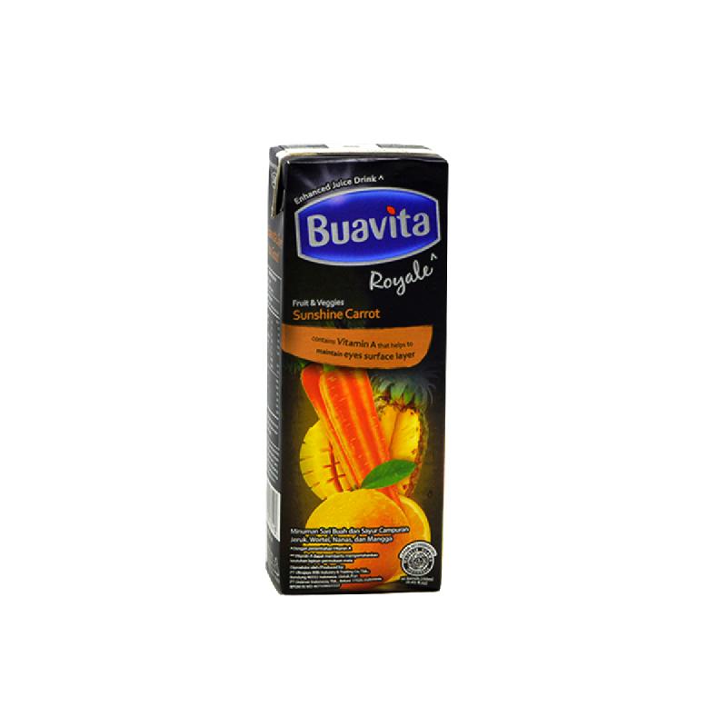 Buavita Carrot 250Ml