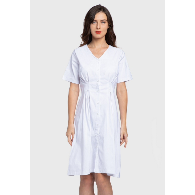 Lovadova Ceelyn Dress White