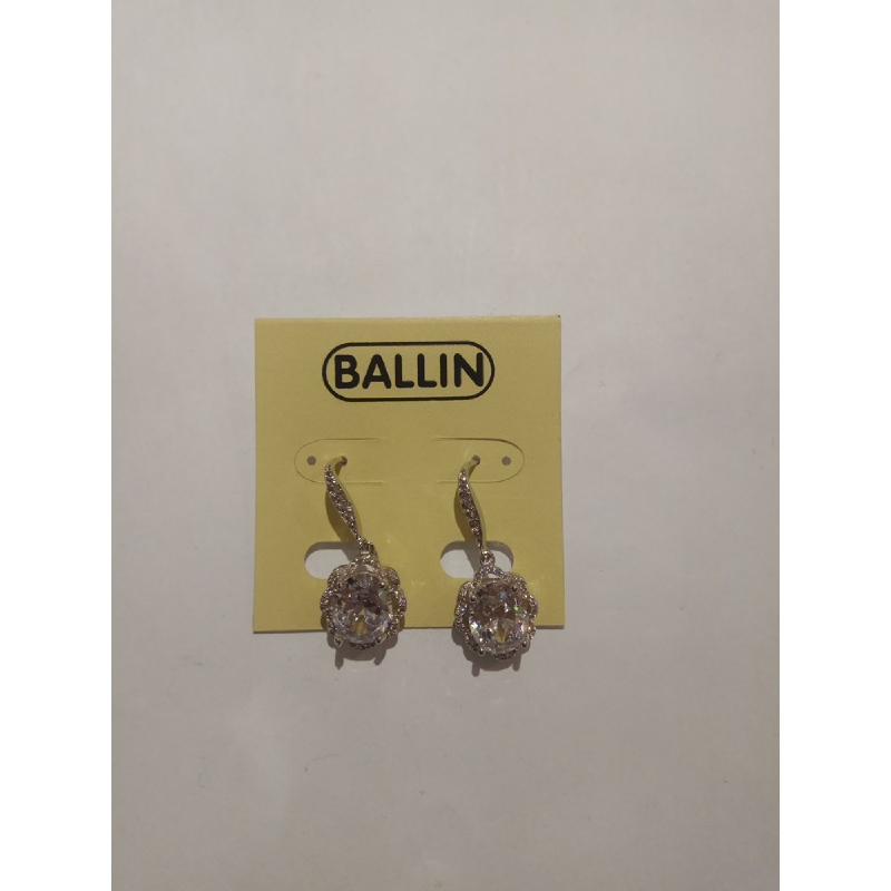 Ballin Women Earing FF-NE0021S Silver